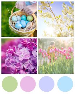 Easter/Spring Inspo Board
