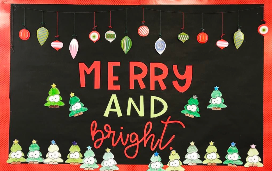 Christmas Bulletin Board Ideas Apples And Abc S