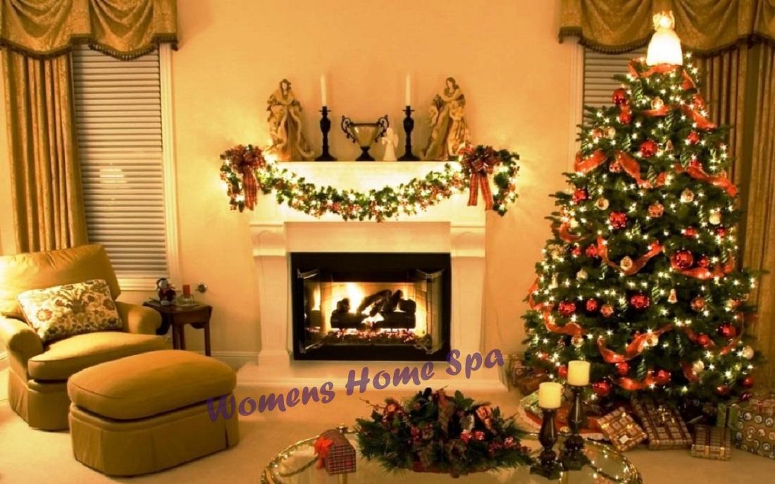 Decorating Ideas > Christmas Decorating Ideas For Your Home  Womens Home Spa ~ 064703_Christmas Decoration Ideas Salon