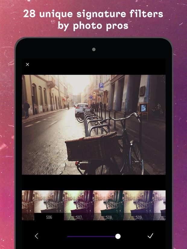 Aplicativo vintage e retrô para fotos e vídeos - Filterloop