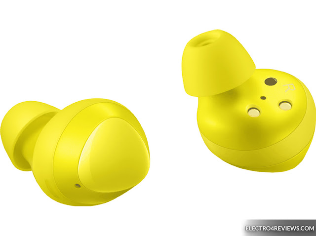 Yield! Galaxy Buds pics leak in same hazard yellow as cheapest Galaxy S10
