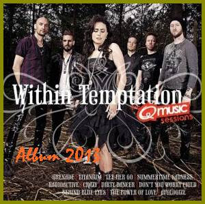 Within Temptation Album The Q Music Sessions cover
