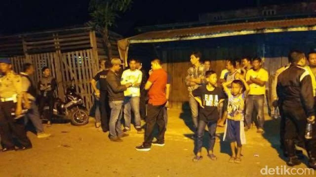 Perang antar geng di Palembang