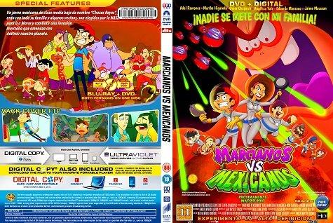 La Feria Del Dvd Marcianos Vs Mexicanos