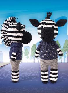 Ravelry: Betje Zebra (modificatie) pattern by Kristel Droog | 320x235
