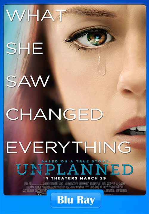 Unplanned 2019 720p BRRip x264 | 480p 300MB | 100MB HEVC