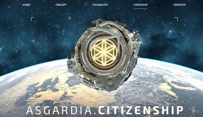 Asgardia, Negara Pertama Yang Dibangun di Luar Angkasa
