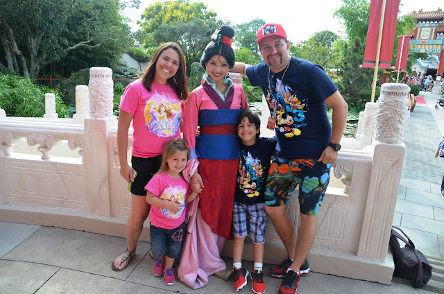 Onde encontrar as Princesas na Disney - Mulan