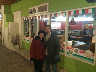 Restaurante de massas Girula Pizza em Bariloche