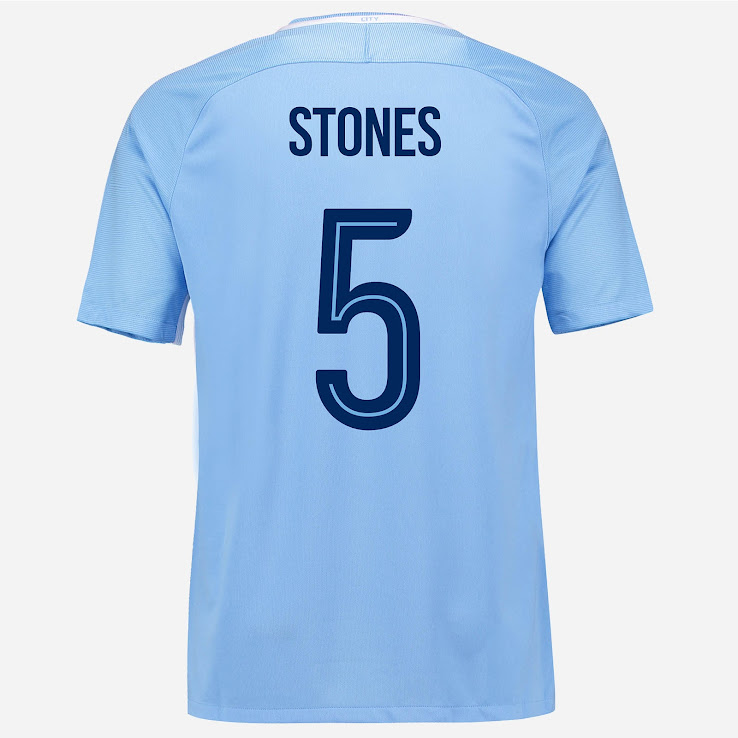 best cheap b0163 766c3 All-New Manchester City 17-18 Kit Font Revealed - Footy ...