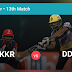 DD Vs KKR Perfect Dream11 Team Prediction Review