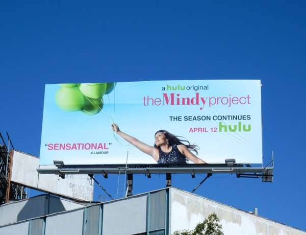 Mindy Project season 4 continues billboard