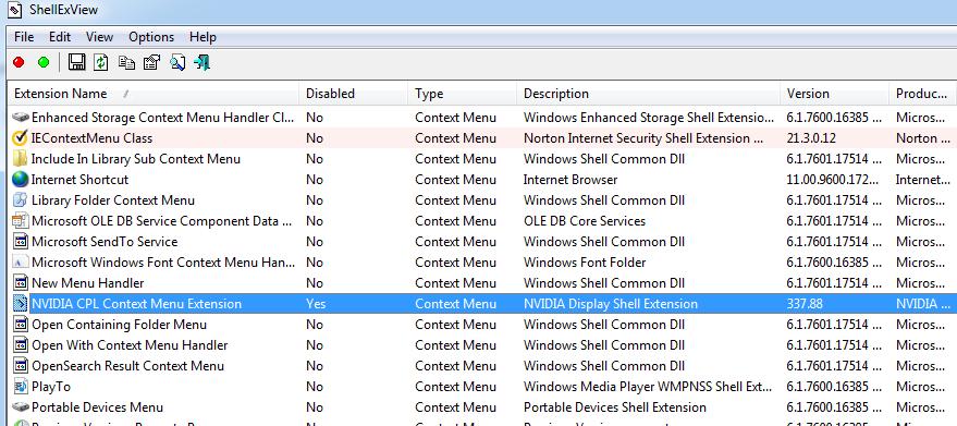Randy's Technology Blog: Windows Explorer crashes when you