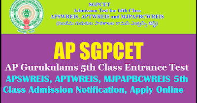 AP SGPCET  application form 2018-2019