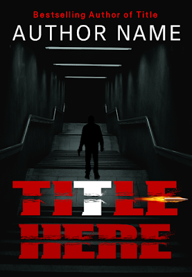 Suspense Premade Cover at Book Skins