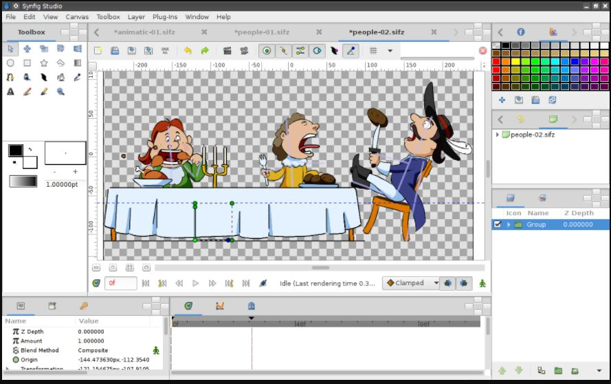 Synfig – Open-source 2D animation software