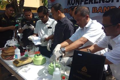 Polresta Banda Aceh: Lam 4 Buleun Nyo 173 Droe Tersangka Narkoba Ta Beureukah