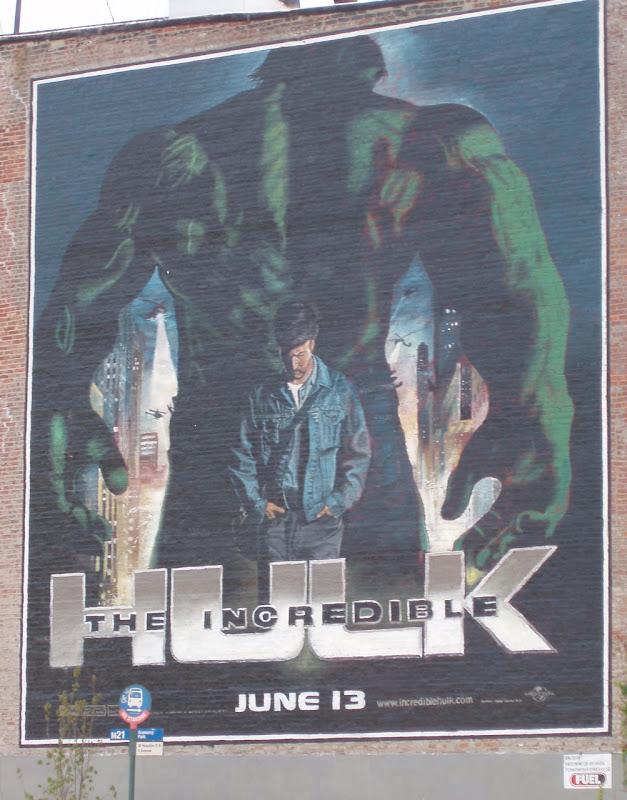 Incredible Hulk wall mural