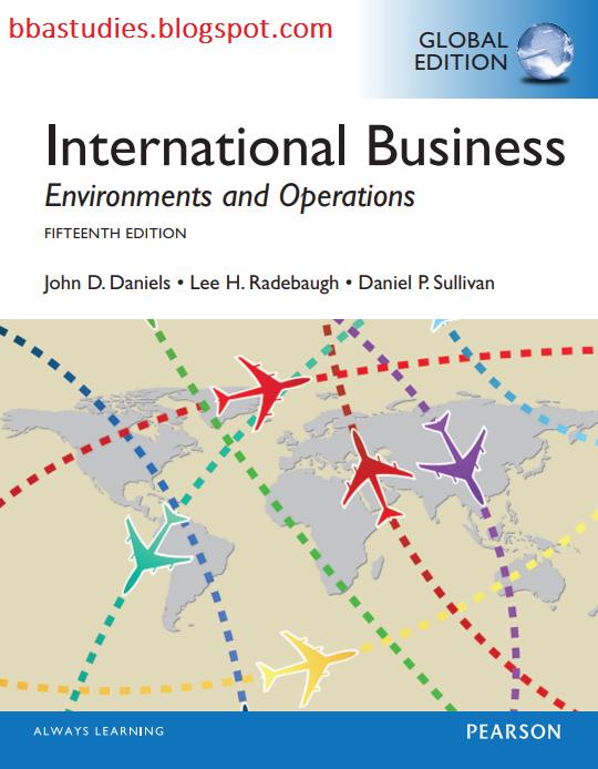 International Business John Daniels Pdf