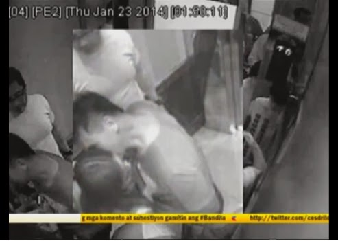 Cedric Lee kisses Deniece Cornejo on new CCTV video