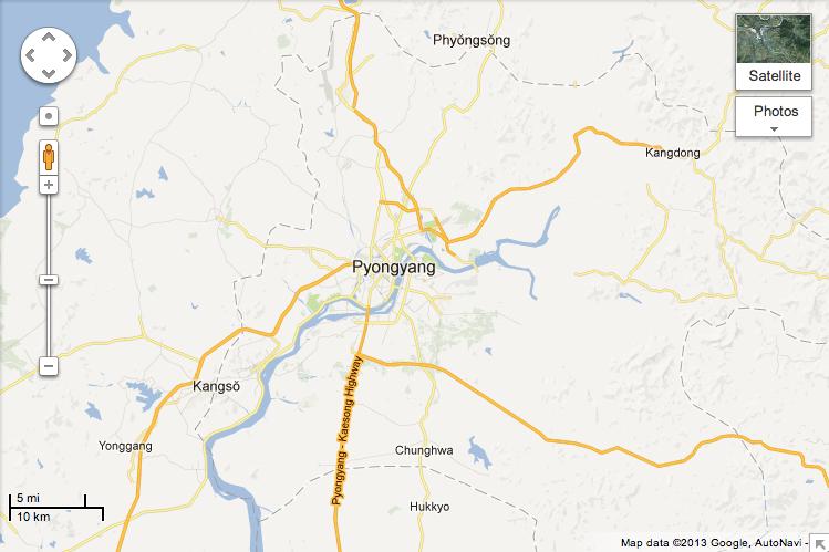 Google Maps North Korea With Crowd-Sourced Data | News ... on ipad maps, aeronautical maps, search maps, online maps, iphone maps, aerial maps, googie maps, microsoft maps, googlr maps, gogole maps, stanford university maps, waze maps, android maps, msn maps, topographic maps, amazon fire phone maps, road map usa states maps, bing maps, goolge maps, gppgle maps,