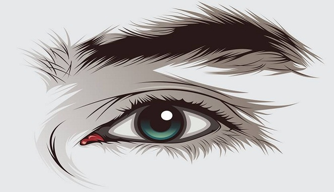 Cara Membuat Mata yang Indah pada Foto Vector