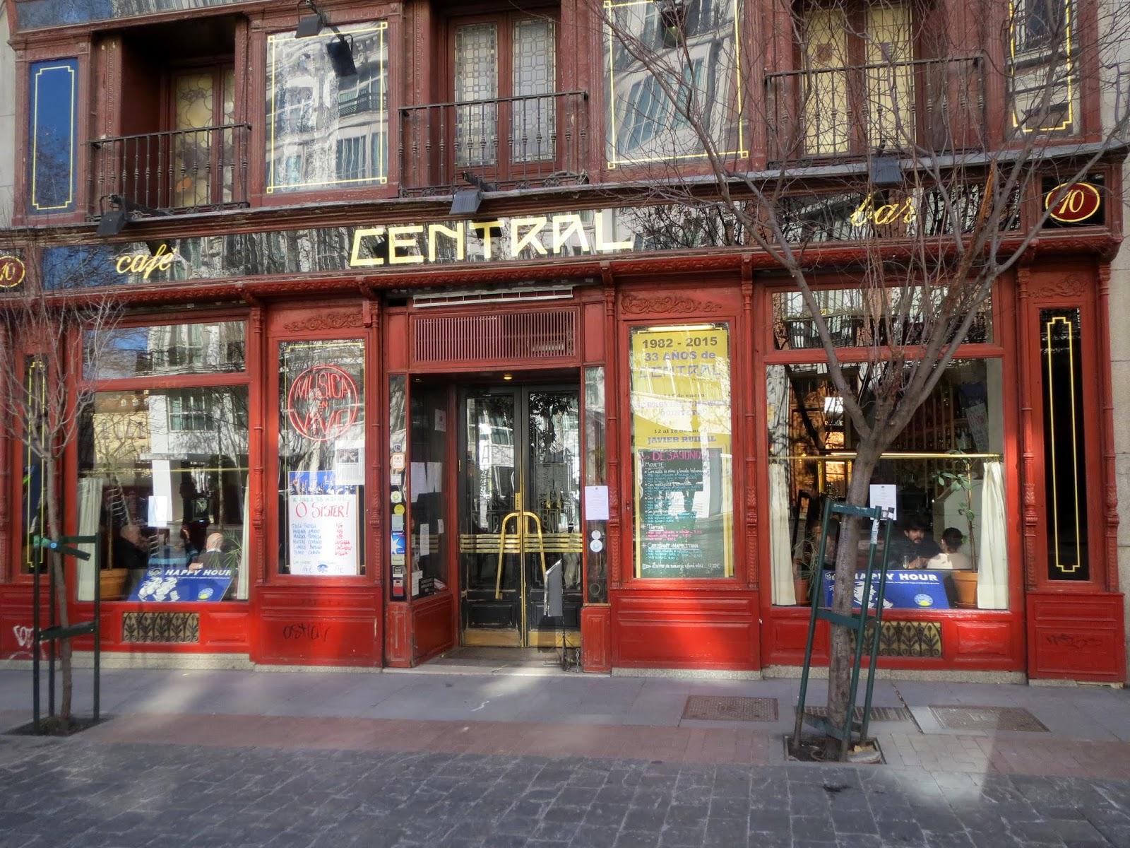 Las imgenes que yo veo Tabernas castizas de Madrid L Calle Echegaray y Plaza del ngel