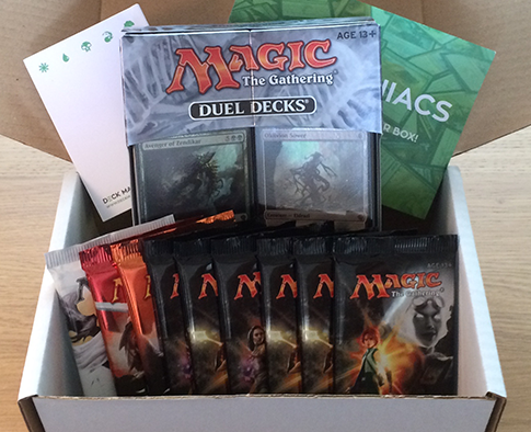 Deck Maniacs Magic The Gathering Box Review