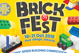 Contest LEGO BrickFest Speed Building 2018 Jakarta