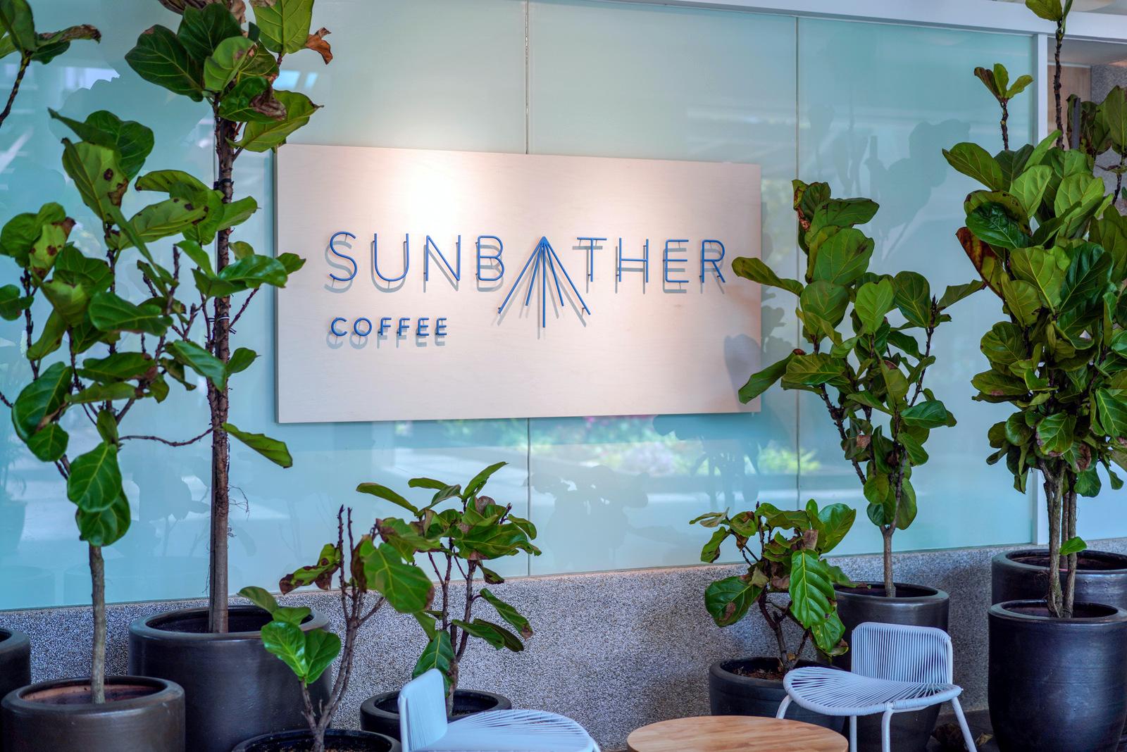 sunbather coffee, the sphere