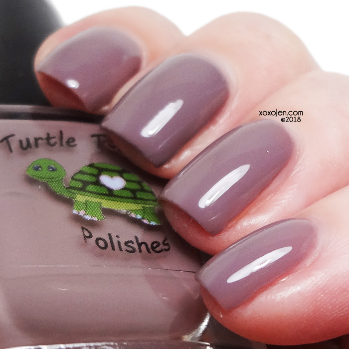 xoxoJen's swatch of Turtle Tootsie Cover Your Mouth When You Cough