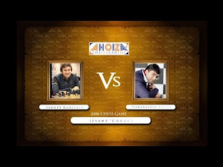 Famous Chess Game: Sergey Karjakin vs Viswanathan Anand