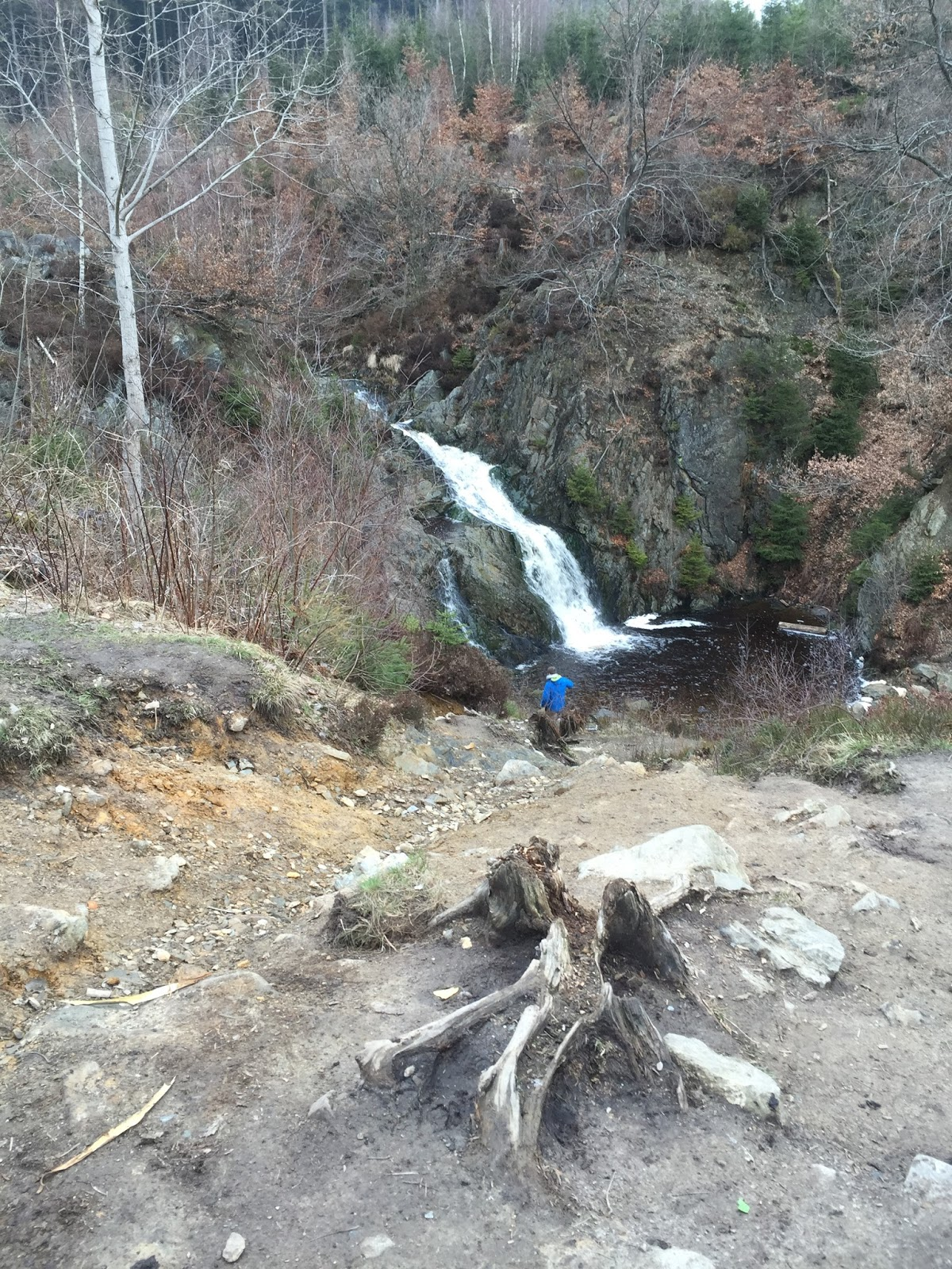 Belgia Ardeny wodospad Bayehon
