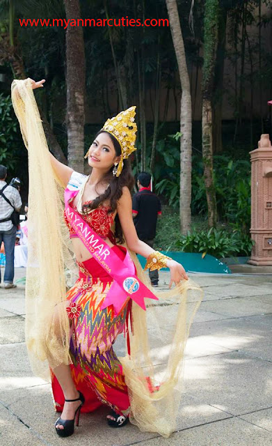 Miss Tourism International Myanmar 2014- Thae Nadi Hlaine @ Thae Htet Maung
