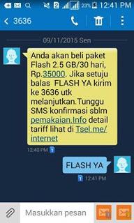 Paket Internet Murah Telkomsel 2.5GB Rp 35ribu