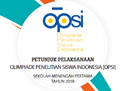 Download Pedoman OPSI SMP 2018
