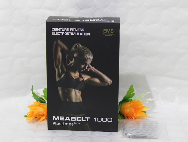 Electroestimulador Muscular Abdominal MEABELT 1000