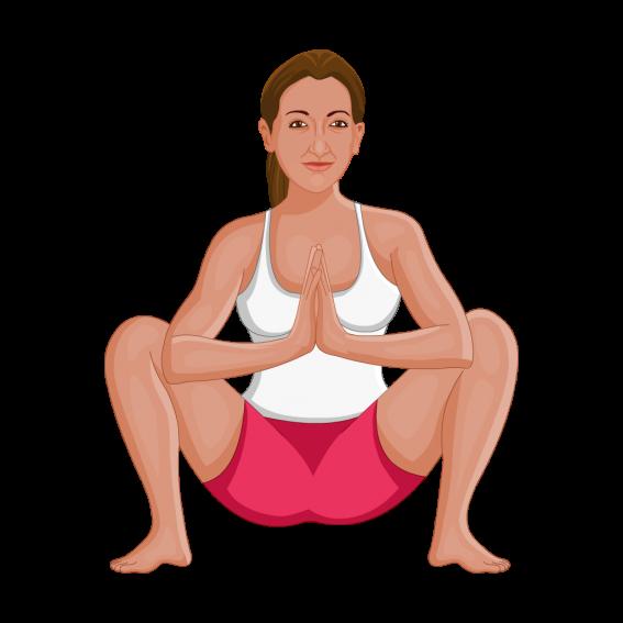 Health Benefits of Malasana Pose (Garland Pose)