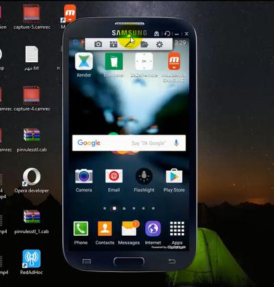 عرض شاشة الهاتف على الكمبيوتر والتحكم بها مع تطبيق بخصائص خرافية