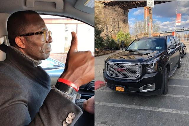 Τρέλα Κάργα... Μαύρος Με Πολυτελές Αυτοκίνητο Ακούει Ποντιακά Στην Ν. Υόρκη - Βίντεο