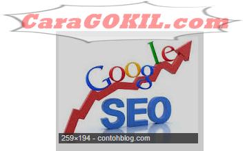 Ranking Artikel Blog