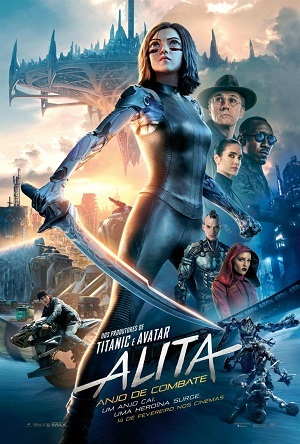 Alita - Anjo de Combate - CAM Torrent Download