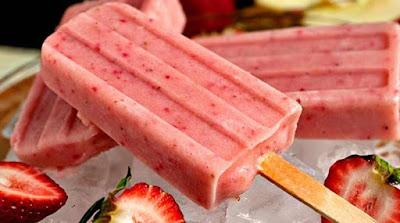 الفواكه المثلجة بديل صحي للايس كريم