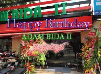 adam bida 2, happy birthday 30/10/2016