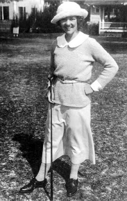 golfer Edith Cummings in the early 1920s