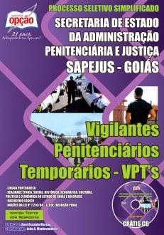 Apostila SAPEJUS GO - Vigilantes Penitenciários Temporários