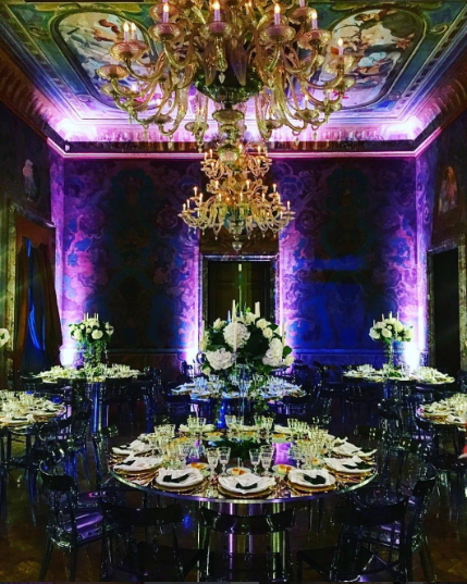 tinubu son wedding reception decoration