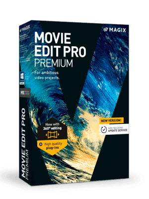 MAGIX Movie Edit Pro box