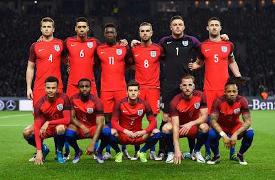 Daftar Skuad Pemain Timnas Inggris 2016