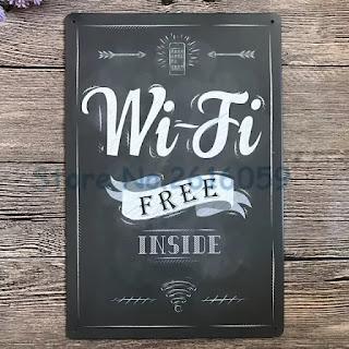 poster wifi livre